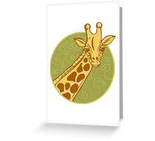 hand drawn giraffe Greeting Card