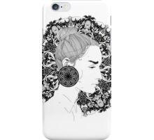 Eva - Fineliner Illustration iPhone Case/Skin