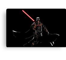 Darth Deathstroke Canvas Print