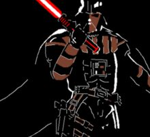 Darth Deathstroke Sticker