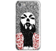 Grace - Fineliner Illustration iPhone Case/Skin