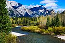 Kananaskis River by Yukondick