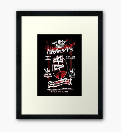 Crowley's Deals Agency Framed Print