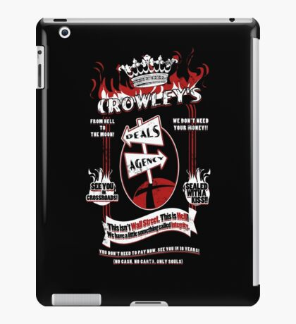 Crowley's Deals Agency iPad Case/Skin