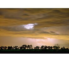 Front Row Seat for the Storm Photographic Print