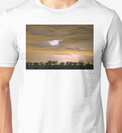 Front Row Seat for the Storm Unisex T-Shirt