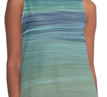 Turquoise Sea Abstract Contrast Tank