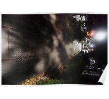 Night Scene Six - Street Shadows Poster