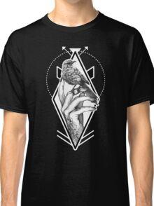 Bird In The Tattooed Hand (Black) Classic T-Shirt