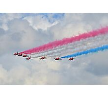 God Save Our Queen-   Red Arrows. Photographic Print