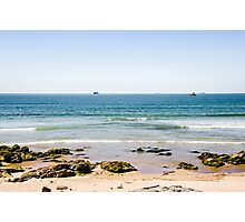 Sand beach in Portugal Photographic Print