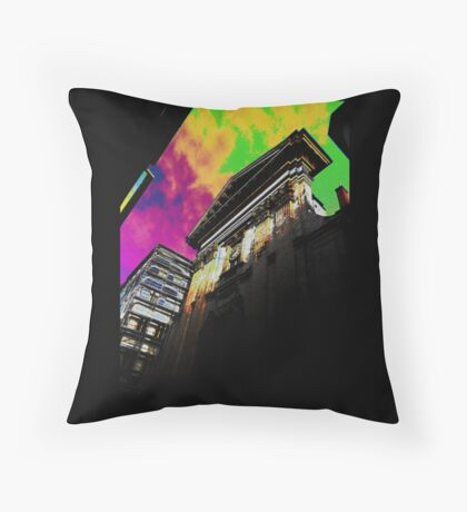 Abbey in Rue Leynaud Throw Pillow