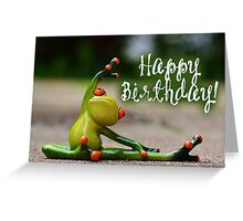 Happy Birthday - Yogi Greeting Card