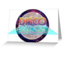 Electro Disco Ball Greeting Card