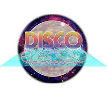 Electro Disco Ball Photographic Print