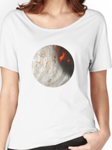 Flaming Seashell 2 Women's Relaxed Fit T-Shirt
