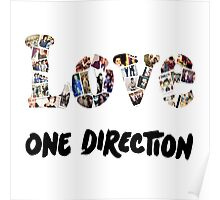 Love One Direction Poster