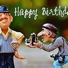 Happy Birthday - Journalist by garigots