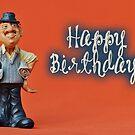 Happy Birthday - Journalist 02 by garigots