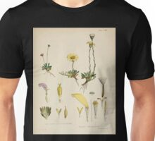 The botany of the Antarctic voyage of H M  discovery ships Erebus and Terror in the Years 1839 1843 Joseph Dalton Hooker V1 093 Unisex T-Shirt