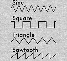 Types of Sounds Waves Unisex T-Shirt