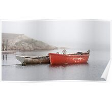 Two Boats In Peggy's Cove Poster