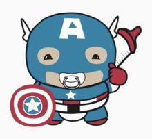 Littlest Avenger by OneWeirdDude