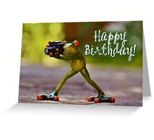 Happy Birthday - Photographer 02 Greeting Card