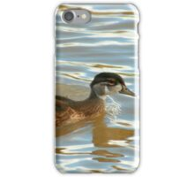 Duck Swimming iPhone Case/Skin