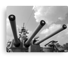 Her famous 16inch Guns Canvas Print