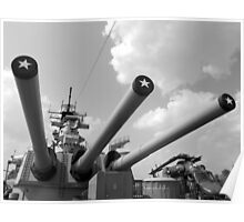 Her famous 16inch Guns Poster