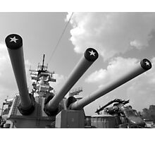 Her famous 16inch Guns Photographic Print
