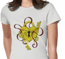 Lock N Key Womens Fitted T-Shirt