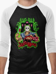 House of Splatter (Green Edition) Men's Baseball ¾ T-Shirt