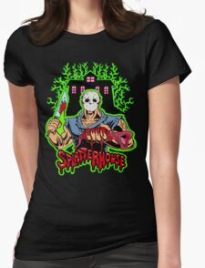 House of Splatter (Green Edition) Womens Fitted T-Shirt