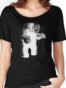 The Lurking Golem Women's Relaxed Fit T-Shirt