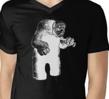 The Lurking Golem Mens V-Neck T-Shirt