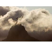Redeemer in the Clouds, Rio De Janeiro, Brazil Photographic Print