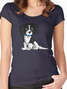 English Springer Spaniel Puppy Women's Fitted Scoop T-Shirt
