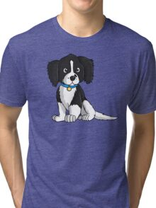 English Springer Spaniel Puppy Tri-blend T-Shirt