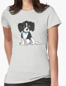 English Springer Spaniel Puppy Womens Fitted T-Shirt