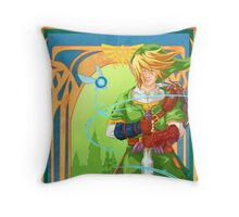 Link of Hyrule Throw Pillow
