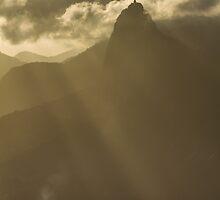 Redeemer on High, Rio De Janeiro, Brazil by Cherrybom