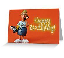 Happy Birthday - Secretary / Receptionist Greeting Card