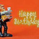 Happy Birthday - Secretary / Receptionist 02 by garigots