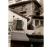 Old rustic Venetian houses architecture detail art photo print Photographic Print