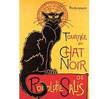 Le Chat Noir Vintage Poster Photographic Print