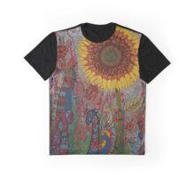 Sunflower Graphic T-Shirt