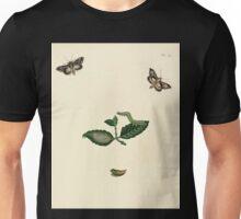 Surinaamsche vlinders  naar het leven geteekend Papillons de Surinam dessinés d'après nature Jan Sepp 1852 041 Moths Butterflies Unisex T-Shirt