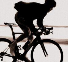 Cyclist silhouette Sticker